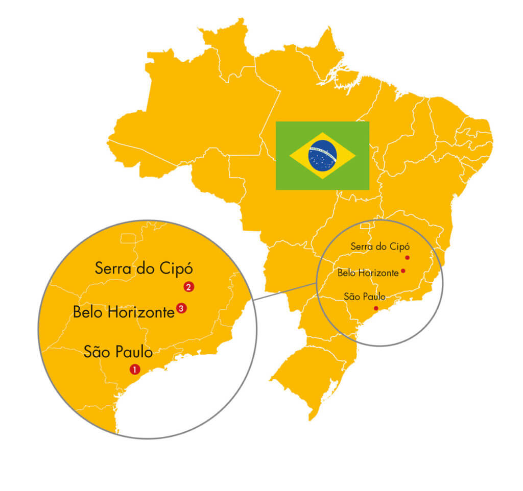Itinéraire de Futura Brasil
